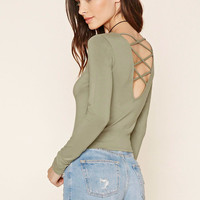 Strappy Back Knit Top