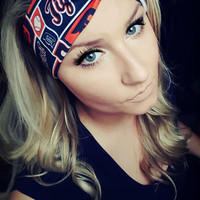 Detroit Tigers MLB basball twist headband