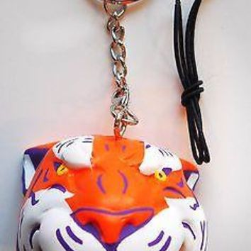 CLEMSON TIGERS 4-IN-1 KEY CHAIN, BACKPACK HANGER, PENCIL TOPPER & ANTENNA TOPPER