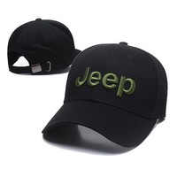 JEEP Women Men Embroidery Leisure Sport Sunhat Baseball Cap Hat