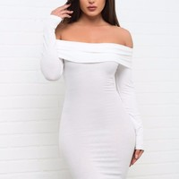 Cameryn Dress White