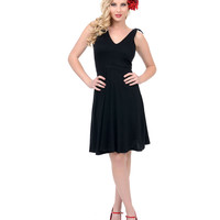 Black Rotten To The Core Fit N Flare Dress