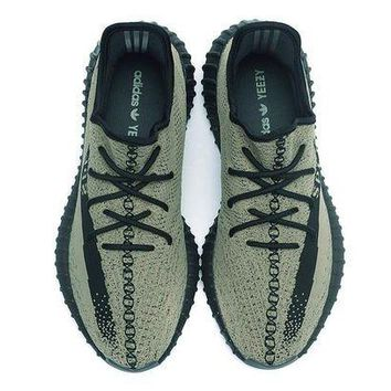 DCC3W New Arrival Adidas yeezy boost v2 Design BY Kanye West Color Green Euro Size 36-47