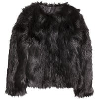H&M Faux Fur Jacket $69.99