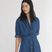 JASPER dress (light denim)
