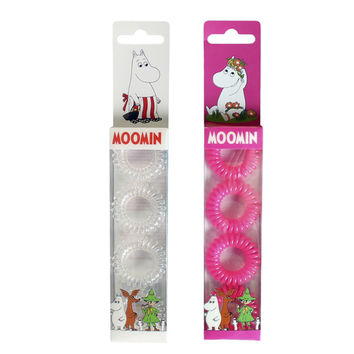 Moominmamma and Snorkmaiden hair rings