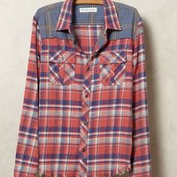 Granary Buttondown by Anthropologie Pink