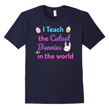 2018 Easter Teacher Bunny Shirt