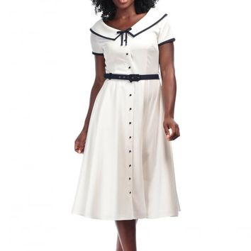 COLLECTIF VINTAGE ADELLA SWING DRESS