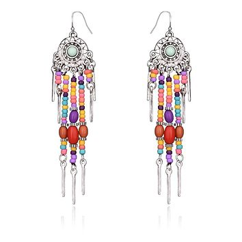 MIKKI - Boho Beaded Chandeliers