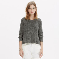 MARLED SWING CROP SWEATER