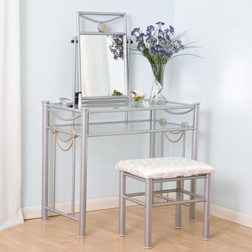 Vanity Cabinet Modern Mirrored Night Stands Makeup Vanity Table Using To Help Clear Tables And Steel Frame Plus Violet Flower Centerpieces White Vanity Bedroom of Stylish Affordable Glass Bedroom Vanity Designs and Bedroom, Furniture, Interior Glass Top Va