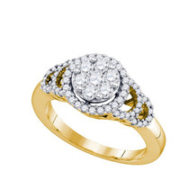 Diamond Fashion Ring in 10k Gold 0.71 ctw