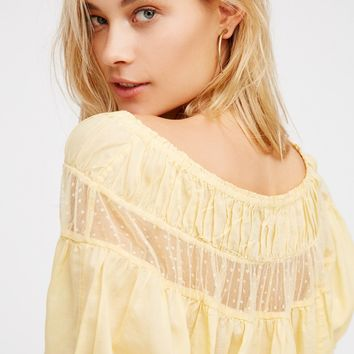 Free People Dream Girl Crop Top
