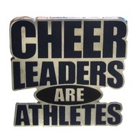 Product: Cheerleaders Are Athletes Pin