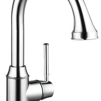 """Hansgrohe """"Talis C"""" Higharc Single Hole Kitchen Faucet W/ Pull-Out Spray Kitchen Faucet"""