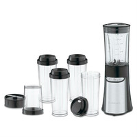 15 Piece Compact Portable Personal Blender Food Chopper In Black