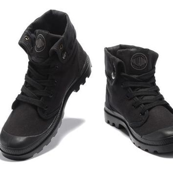Palladium Baggy Lll Men Turn High Boots All Black - Beauty Ticks