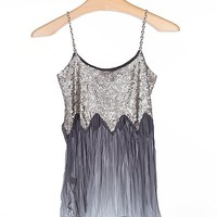Gimmicks by BKE Pieced Sequin Tank Top