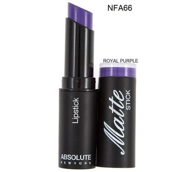Royal Purple  Matte Lipstick