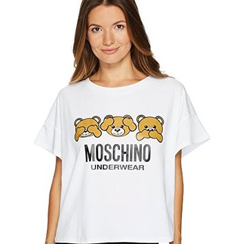 Moschino Jersey Stretch Moschino Bear T-shirt