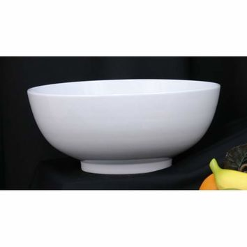 Dover Metals Company P-855A 14-Inch Round Porcelain Serving Bowl