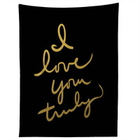 Lisa Argyropoulos I Love You Truly in Black Tapestry