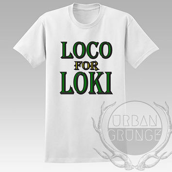 Loco for loki Unisex Tshirt - Graphic tshirt