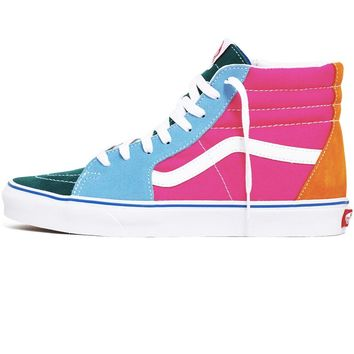 Sk8-Hi Suede / Canvas Sneakers Multi / Bright