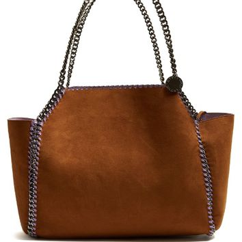 Falabella reversible faux-suede tote | Stella McCartney | MATCHESFASHION.COM US