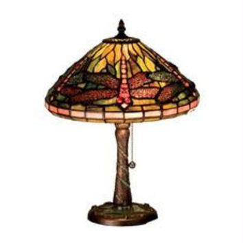 16 Inch H Dragonfly Cone Accent Lamp Table Lamps