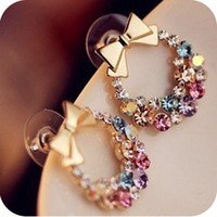 Accessory Korean Butterfly Vintage Floral Fashion Earrings [10417792788]