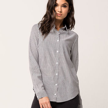 ELODIE Stripe Womens Top | Shirts + Flannels