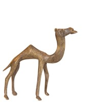 Vintage African Medium Bronze Camel