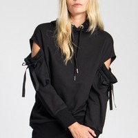 Finch cold-shoulder sweatshirt