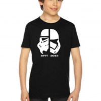 star wars 1977 2015 The Force Awakens - Youth Tees