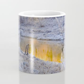 It's Gold Outside Mug by Mixed Imagery