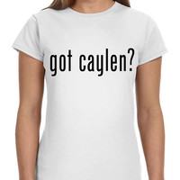 Got Caylen JC O2L Our 2nd Life Second Ladies Softstyle Junior Fit Tee Cotton Jersey Knit Gift Shirt Concert
