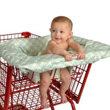 Balboa Baby® Shopping Cart and Highchair Cover in Sage Circle