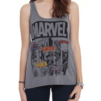 Marvel Heroes Logos Girls Tank Top