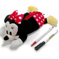 New Disney Minnie Mouse Plush Doll pencil case bag Pouch