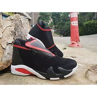 Air Jordan 14 Zipper Style - Black Red