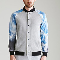 Cloud-Sleeve Bomber Jacket
