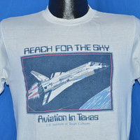 80s NASA in Texas Space Shuttle Sky t-shirt Small
