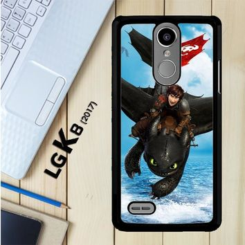 Toothless How To Train Your Dragon Y0783 LG K8 2017 / LG Aristo / LG Risio 2 / LG Fortune / LG Phoenix 3 Case