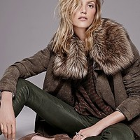 Free People Womens Secure The Perimeter Army Jacket