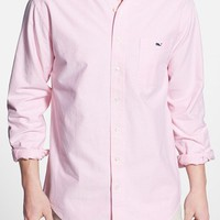 Men's Vineyard Vines 'Solid Whale' Slim Fit Oxford Sport Shirt,