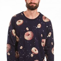 Drop Dead - Space Donuts Navy - Sweater