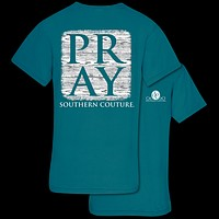 Southern Couture Pray Faith Comfort Colors T-Shirt