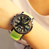 Comfortable Vintage Fashion Quartz Classic Watch Round Ladies Women Men wristwatch On Sales = 4662230724